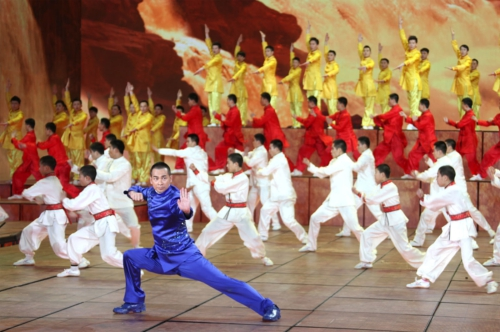 Zhao Wenzhuo appearance in Spring Festival Gala set off the China Kung Fu wave. (PRNewsFoto/Zhaowenzhuo Studio)