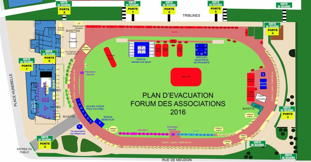 GLBE FORUM DES ASSOCIATIONS SECURITE 2016